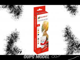 HUMBROL Set Peinture acrylique AB9060 Ensemble figurine acrylique