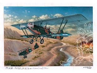 Frrom maquettes avions 0038 Potez 25 A2/B2 Hispano 1/72