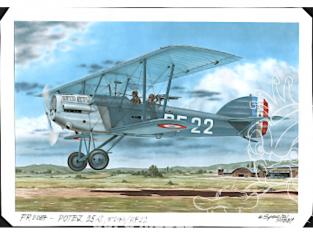 Frrom maquettes avions 0037 Potez 25 A2/B2 Lorraine 1/72