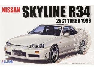 Fujimi maquette voiture 039671 Nissan Skyline R34 25GT Turbo 1998 1/24