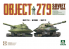 Takom maquette militaire 5005 Char lourd sovietique Objet 279 1/72