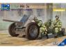Riich Models maquette militaire RV35026 3,7 Pak 36 canon anti char 1/35