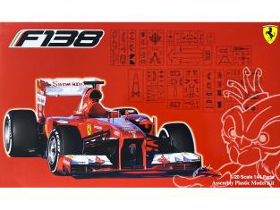 Fujimi maquette voiture 092027 Ferrari F138 GP chine 1/20