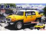 Fujimi maquette voiture 066134 Toyota FJ Cruiser SNAP Jaune 1/24