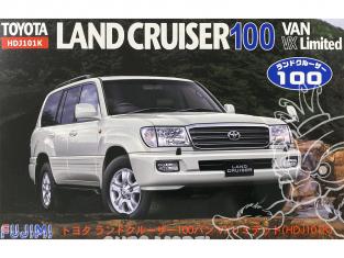 Fujimi maquette voiture 038049 Toyota Land Cruiser 100 Van VX Limited HDJ101K 1/24