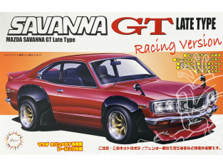 Fujimi maquette voiture 037691 Mazda Savanna GT Late Type Racing Version 1/24