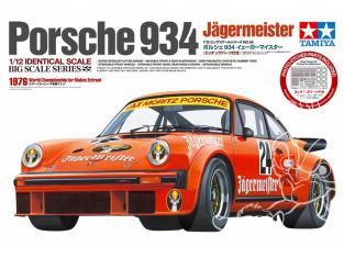 Tamiya maquette voiture 12055 Porsche 934 Jägermeister 1/12
