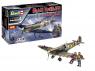 """Revell maquette avion 05688 Spitfire Mk.II """"Aces High"""" Iron Maiden inclus colle pinceau et peinture 1/32"""