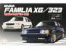Fujimi maquette voiture 039893 Mazda Familia XG/323 1/24