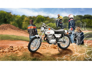 Revell maquette moto 07941 Yamaha 250 DT-1 1/12