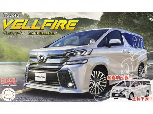 """Fujimi maquette voiture 066080 Toyota Vellfire ZA """"G Edition"""" SNAP Blanc 1/24"""