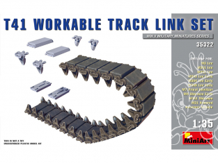 Mini Art maquette accessoires militaire 35322 T41 ENSEMBLE DE chenilles 1/35