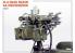 Mini Art maquette militaire 35211 mitrailleuse M-4 QUAD MAXIM AA 1/35