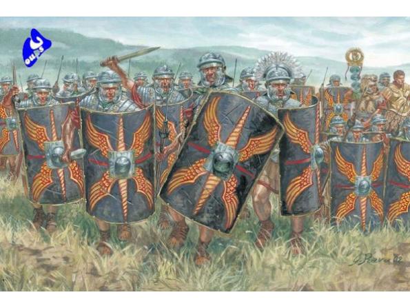 Italeri maquette historique 6047 infanterie romaine 1/72