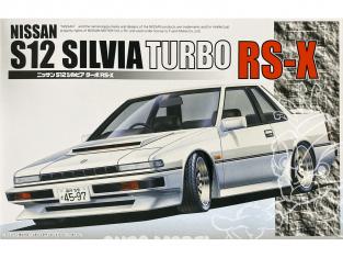 Fujimi maquette voiture 03666 Nissan Silvia Turbo RS-X S12 1/24