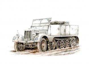 Special Hobby maquette militaire 72002 SdKfz 11 Leichter Zugkraftwagen 3t 1/72