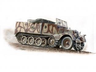 Special Hobby maquette militaire 72004 SdKfz 11/4 Nebelkraftwagen 1/72