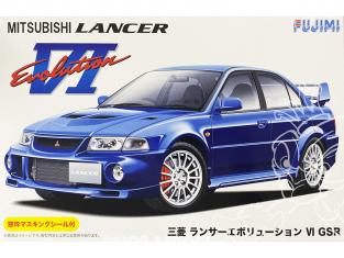 Fujimi maquette voiture 039237 Mitsubishi Lancer Evolution VI GSR 1/24