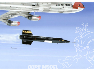 """Special Hobby maquette avion 32029 X-15-1 """"Eight XLR-11 Engines"""" 1/32"""
