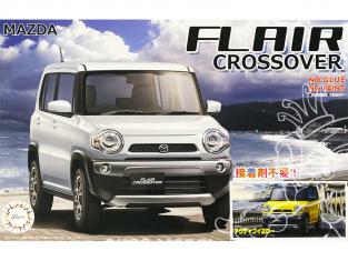 Fujimi maquette voiture 066042 Mazda Flair Crossover SNAP Jaune 1/24