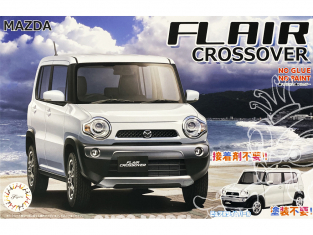 Fujimi maquette voiture 066035 Mazda Flair Crossover SNAP Blanc 1/24