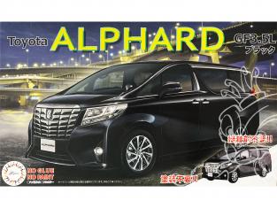Fujimi maquette voiture 066073 Toyota Alphard GF3.5L SNAP Noir 1/24