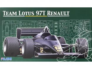 Fujimi maquette voiture 91952 Team Lotus 97T Renault 1/20
