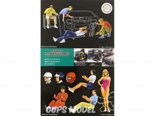Fujimi maquette accessoire voiture 116365 Figurine & Accessoires intérieur 1/24