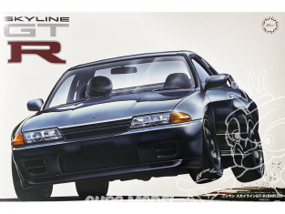 Fujimi maquette voiture 141756 Nissan Skyline GT-R R32 (BNR32) 1/12