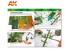 Ak Interactive livre Learning Series 10 AK296 Maitriser la végétation en Modélisation en Espagnol