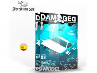 ABTEILUNG502 magazine 729 Damaged Numéro 8 007 Underwater Romance en Espagnol