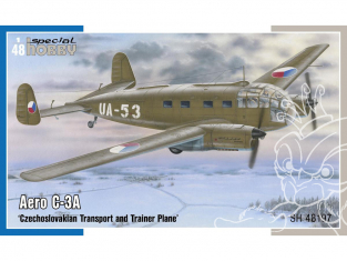 Special Hobby maquette avion 48197 Aero C-3A Tchécoslovaque, avion de transport et d'entraînement 1/48