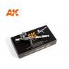 AK interactive aérographe ak9000 Aérographe Basic Line 0.3 double action