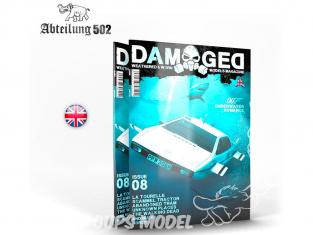 ABTEILUNG502 magazine 728 Damaged Numéro 8 007 Underwater Romance en Anglais