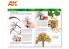 Ak Interactive livre Learning Series 10 AK295 Maitriser la végétation en Modélisation en Anglais
