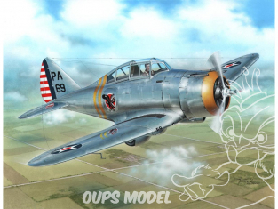 Special Hobby maquette avion 72260 P-35 Silver Wings Era 1/72
