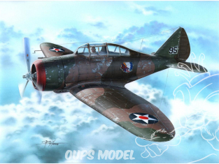 Special Hobby maquette avion 72262 P-35 War games and War Training 1/72