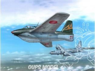 Special Hobby maquette avion 72263 Messerschmitt Me 163C What-If War 1/72