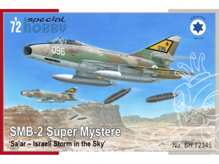 Special Hobby maquette avion 72345 SMB-2 Super Mystère Sa'ar Israeli Storm in the Sky 1/72