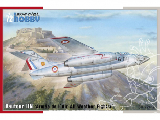 Special Hobby maquette avion 72412 S. O. 4050 Vautour II Armée de l' Air All Weather Fighter 1/72