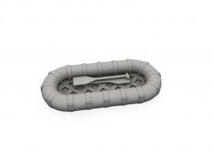 Cmk kit d'amelioration N72033 Radeau de sauvetage pour bateau PT-109 pour kit revell 1/72