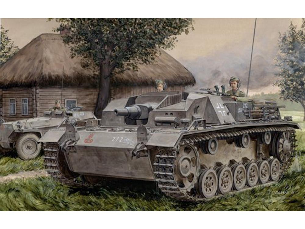 Tamiya Échelle 1//35 WW2 Allemand sturmgesshutz III Ausf B Tank