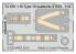EDUARD photodecoupe avion Big33109 Polikarpov I-16 Type 10 Icm 1/32