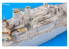 Eduard photodecoupe bateau 53245 Amélioration DKM Schleswig - Holstein Trumpeter 1/350