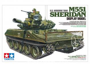 Tamiya maquette militaire 36213 M551 Sheridan 1/16