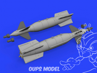 Eduard kit d'amelioration avion brassin 648518 Paveway II Mk.13/18 1/48