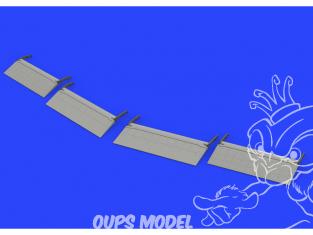 Eduard kit d'amelioration avion brassin 648520 Volets d'atterrissage Lockheed P-38 F/G Lightning Tamiya 1/48