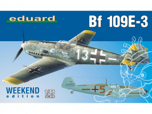 EDUARD maquette avion 84157 Messerschmitt Bf 109E-3 WeekEnd Edition 1/48