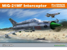 EDUARD maquette avion 70141 MiG-21MF Interceptor ProfiPack Edition Réédition 1/72