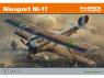 EDUARD maquette avion 8071 Nieuport Ni-17 ProfiPack Edition 1/48